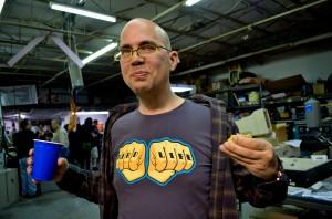 Reppin' the nerd life. Photo credit: @clocksailor