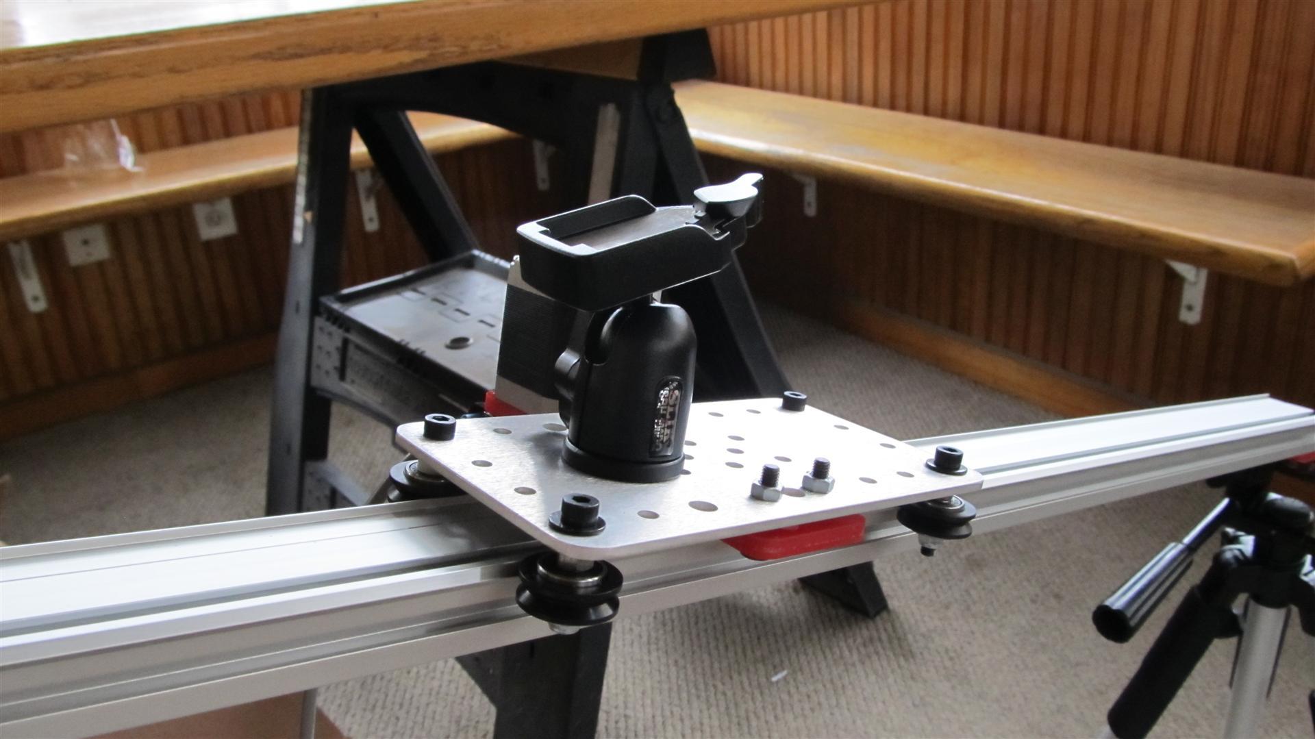 Моторизированный слайдер своими руками 60